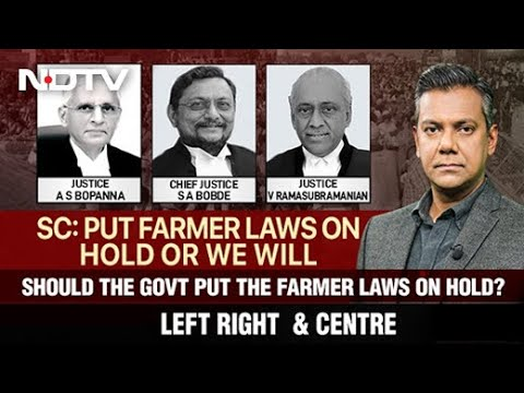 Left, Right & Centre | Should Government Put Farm Laws On Hold?