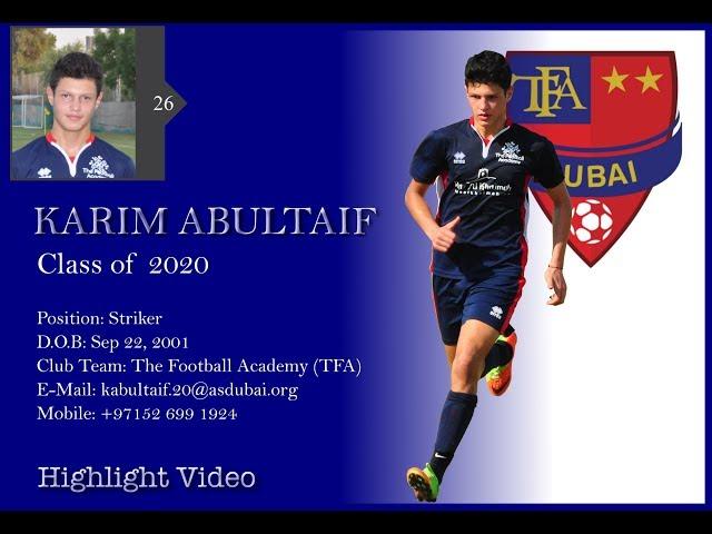 TFA - Karim Abultaif Highlights