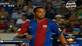 Ronaldinho vs Tigres 2006-2007 [by nitter]