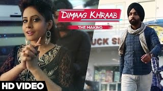 Miss Pooja | Making of Dimaag Khraab | Tahliwood Record