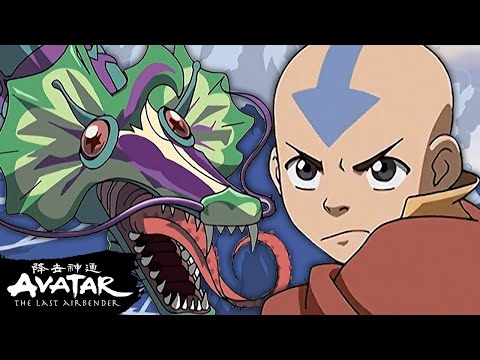 Download Team Avatar Escapes the Serpent! 🐉 The Serpent's Pass Full Scene   Avatar