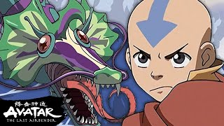 Team Avatar Escapes the Serpent! 🐉 The Serpent's Pass Full Scene | Avatar