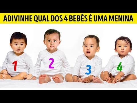 Teste Psicológico: Qual Dos 4 Bebês É Uma Menina?