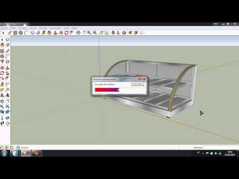 Como importar arquivo 3d do sketchup para o promob 123vid for Mobilia para sketchup 8