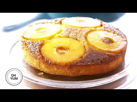 Classic Pineapple Upside Down Cake | Oh Yum with Anna Olson