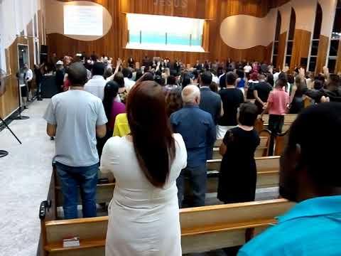 Domingo de Páscoa Culto de Louvor  na CADER Resende RJ .