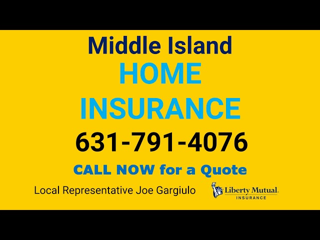 Middle Island Home Insurance 631-791-4076