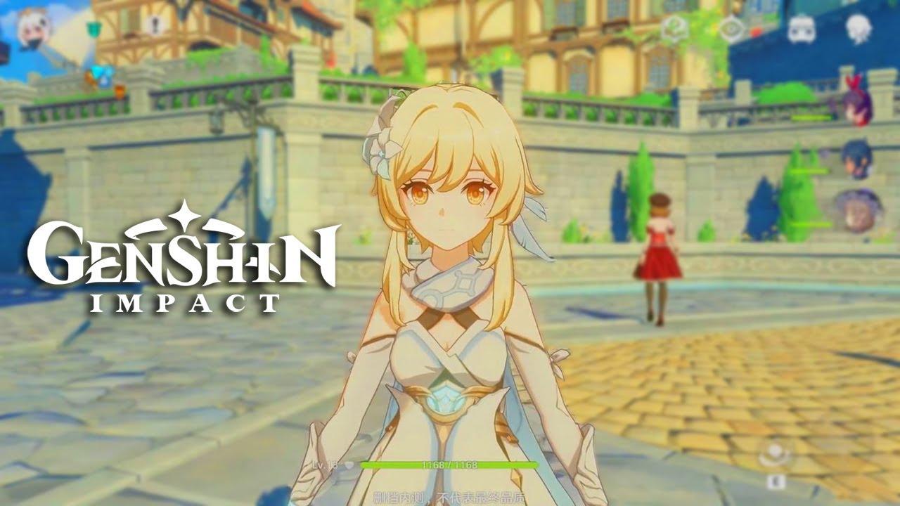 Genshin Impact 《原神》 - Open World Gameplay Part 2 Characters Skills Show -  1st CBT iOS - YouTube