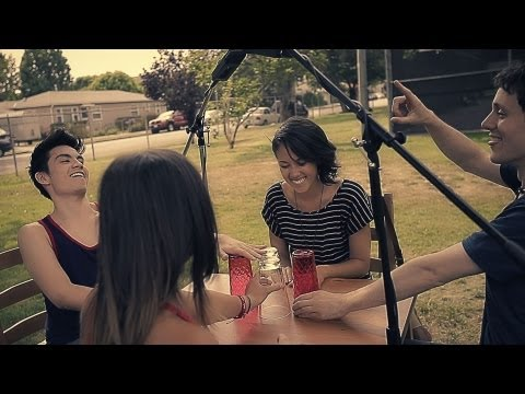 CUPS!!  Pitch Perfect  Sam Tsui, Alex G, Kina Grannis, Kurt Schneider