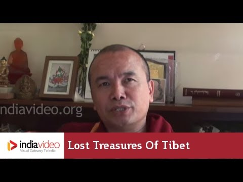 Tibetan treasure house
