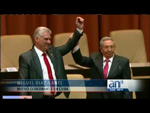 Miguel  Díaz-Canel ratifica que Raúl Castro sigue al mando en Cuba - América TeVé