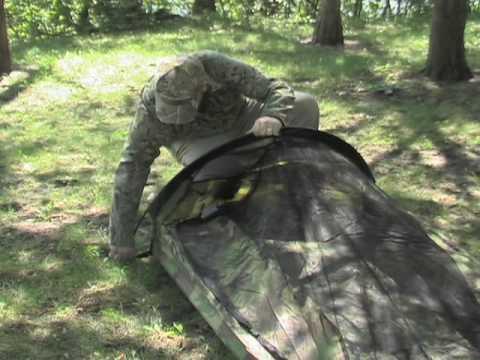 & Guide Gear Camo Bivy Tent - YouTube