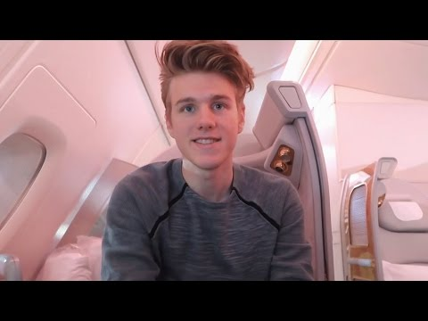 FIRST CLASS EMIRATES FLIGHT! ($20,000 Seat)