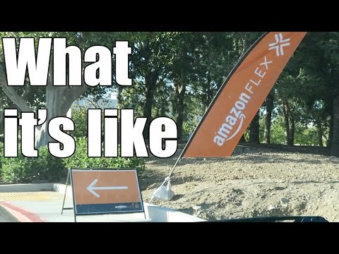 Amazon Flex - What its like
