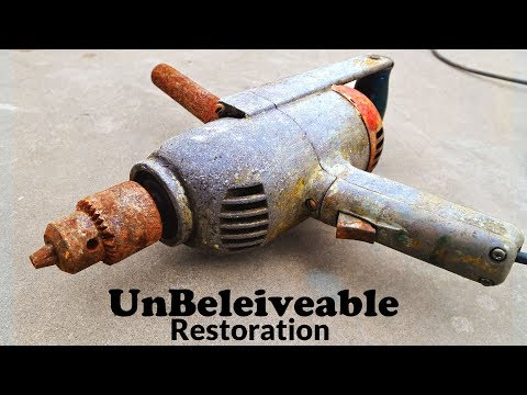 Double handled Vintage Drill - Unbelievable Restoration