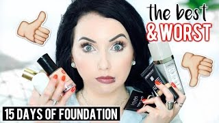 The Best & Worst of 15 DAYS OF FOUNDATION! Season 3