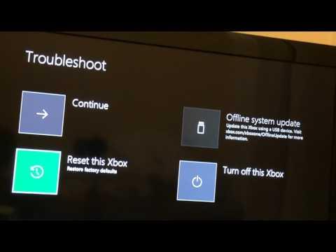 How to fix Xbox one start up error code E105
