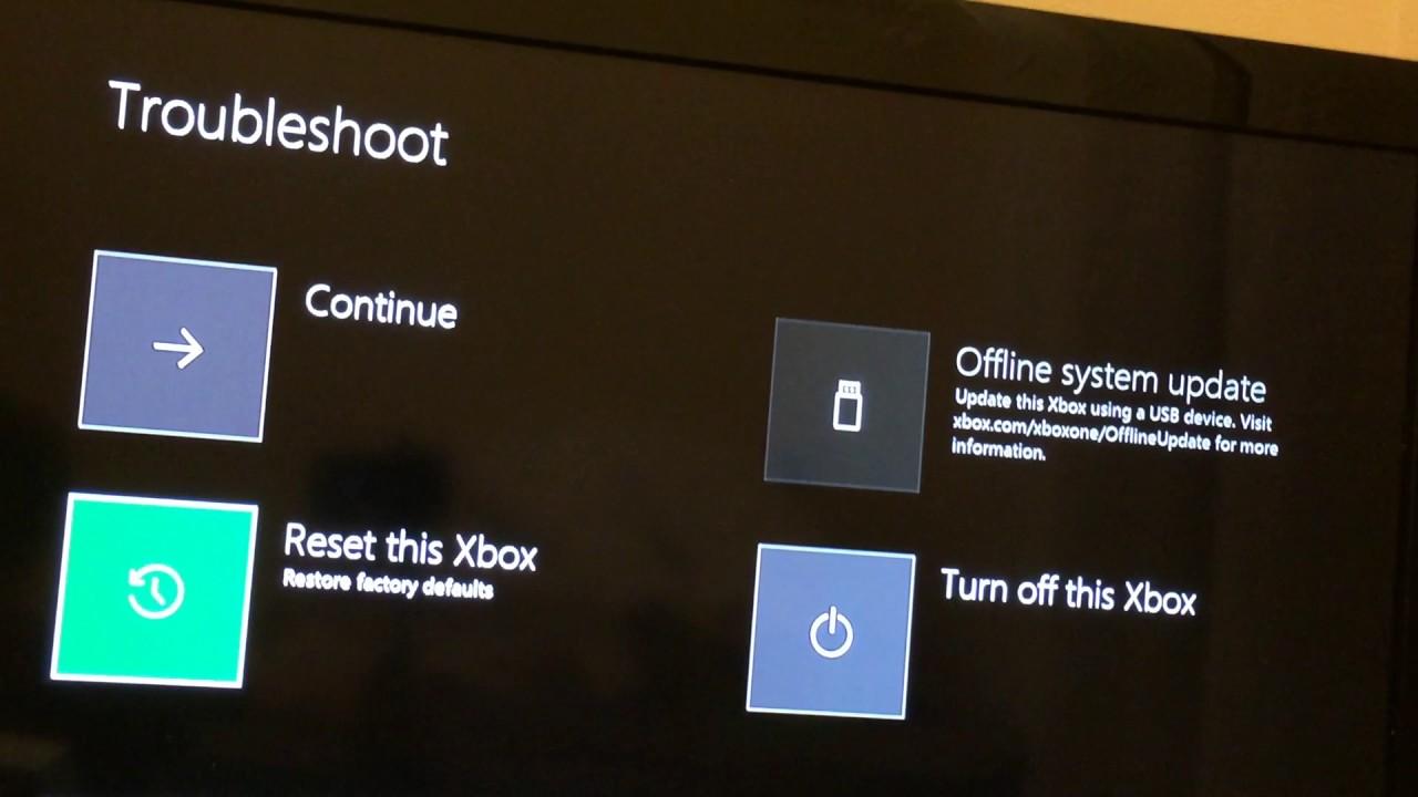 How to fix Xbox one start up error code E105 - YouTube