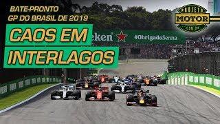 CORRIDA MALUCA em Interlagos | Bate-Pronto | GP do Brasil de F1 de 2019