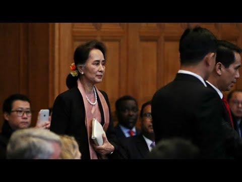 الزعيمة البورمية تصف مذكرة اتهام سلطات بلادها بـ-إبادة- الروهينغا المسلمة -بالمضللة-