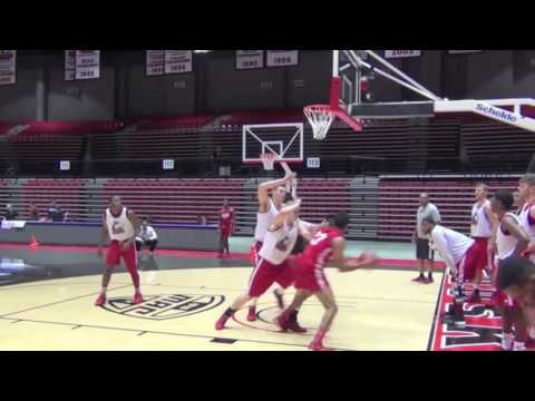 All In: With NIU Men's Basketball - Episode 2 - Sights and Sounds of Practice