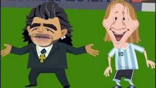 maradona and Messi  הרצועה הצולבת: האם מסי בדרך לארץ?