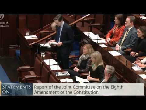 Dáil speech 17th Jan 2018