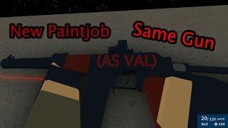 Roblox Phantom Forces - New Paintjob, Same Gun (AS VAL)
