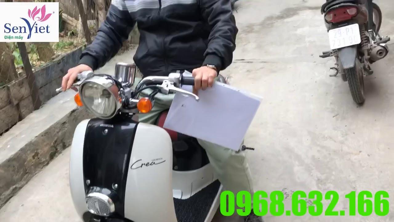 Đánh giá xe máy crea 50cc nhật nội địa -0968632166