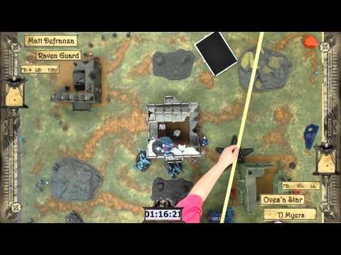 Warhammer 40k Battle Report 014: Tau/Tau Ovesa vs Raven Guard, De La Warr Open 2014 Round 5 (Finals)