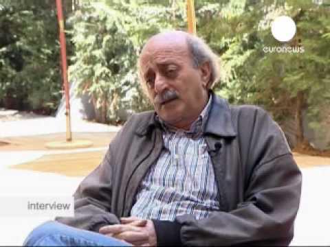 euronews - interview - Walid Jumblatt