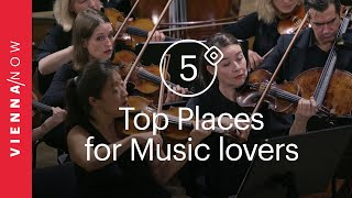 5 Things to do for Music Lovers in Vienna