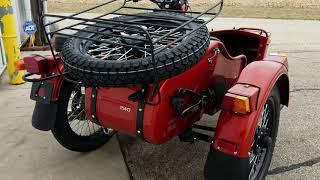 2019 Ural GearUp 2WD Sidecar Motorcycle