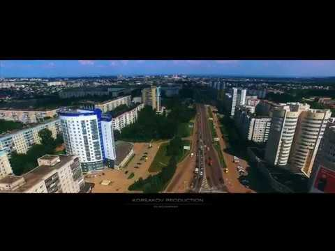 Индустриальный район г.Барнаул ул. Малахова-Власихинская |UltraHD 4K|
