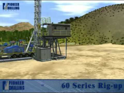 Modern Land Drilling Rig Oil and Gas