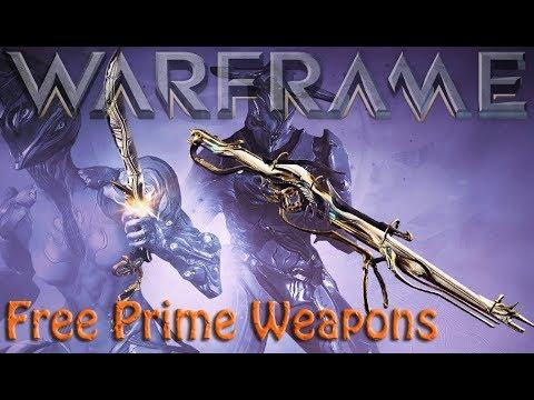 Warframe - Free Prime Weapons thumbnail