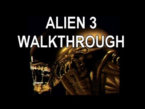 Alien 3 SNES Walkthrough Ending Super Nintendo