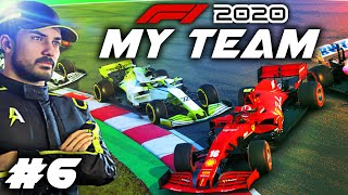 F1 2020 MY TEAM CAREER Part 6: CAR SIDEWAYS! Gearbox Issues!