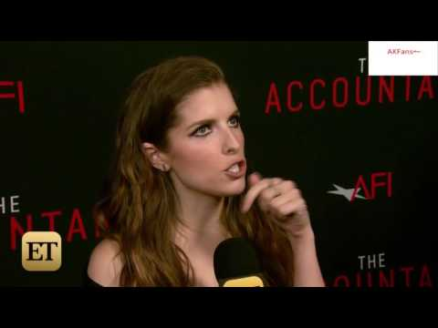 """Anna Kendrick reveals Dating Advice for her Younger Self-""""The Accountant"""" Premiere Interview"""