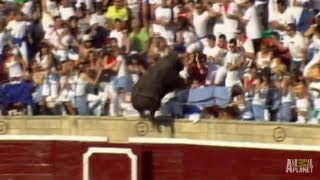 Enraged Bull Leaps into Stands | World