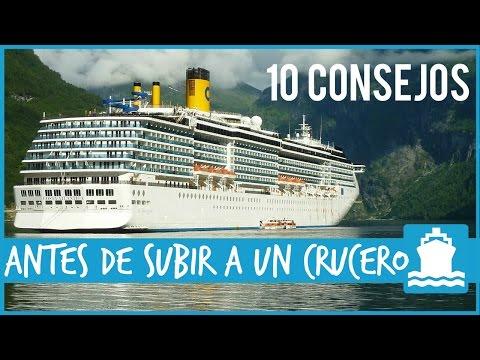 10 Consejos para antes de embarcar en un crucero