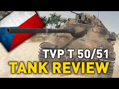 World Of Tanks || TVP T 50/51 - Tank Review