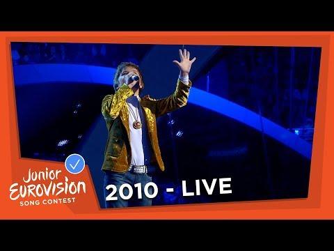 Daniil Kozlov - Muzyki Svet - Belarus - 2010 Junior Eurovision Song Contest