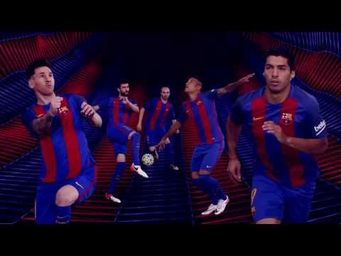 FC Barcelona – Nuevo kit Home 2016/17