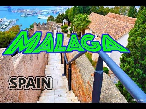 Malaga, Spain: Cruise Port, Vacation Guide, Travel Must See List / Urlaub Malaga - Travel Food Drink