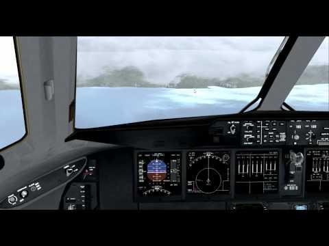 [HD] FSX DX10 PMDG MD-11 go-around in Caracas