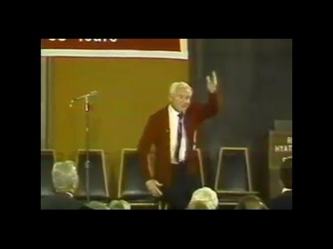 Dean Ernie Arbuckle Gives The Axe Cheer