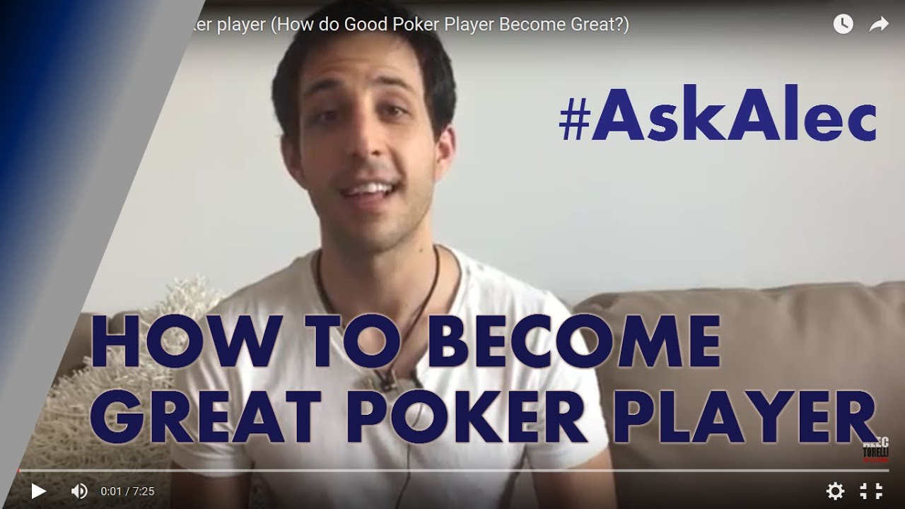 How to Become a Good Poker Player pics