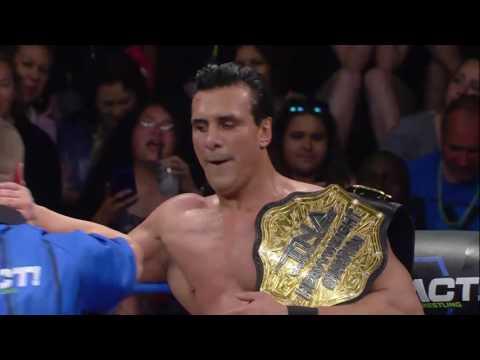 Alberto El Patron vs. Lashley World Title Match! | IMPACT March 9th, 2017