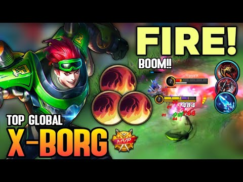 Download Xborg Best Build 2021 | Top Global Xborg Gameplay | Mobile Legends✓